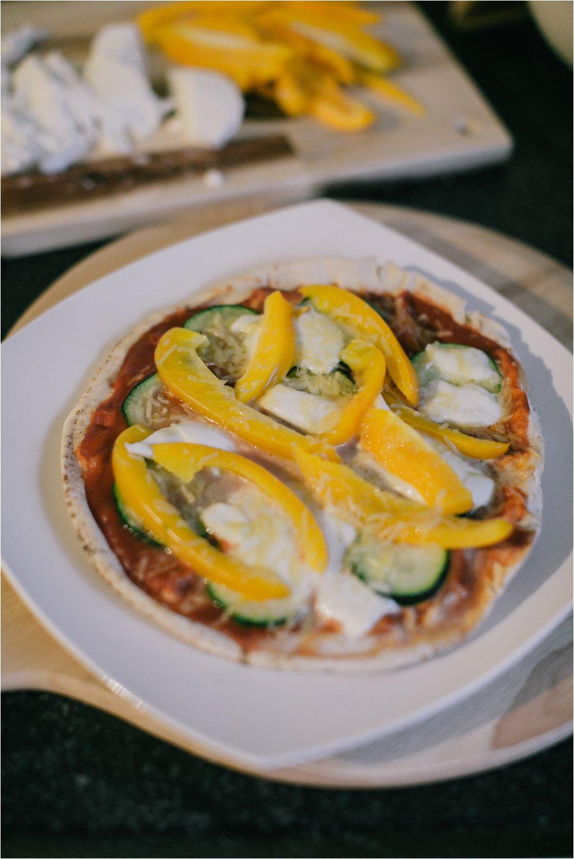 Recept platbrood pizza