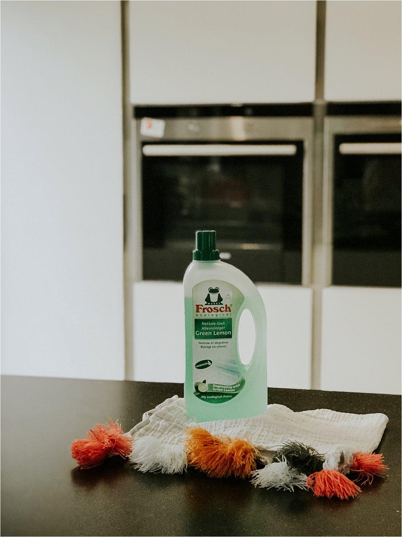 Grote schoonmaak met Frosch