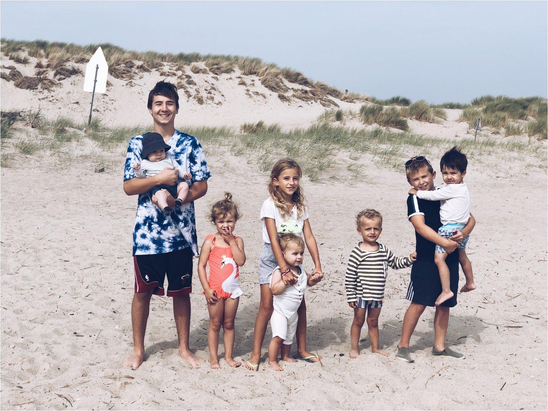 Samen acht kinderen - groot gezin